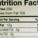 アメリカ栄養成分表示 食物繊維と糖の合計が炭水化物と違う!残りは何?